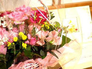 出産祝いのお花