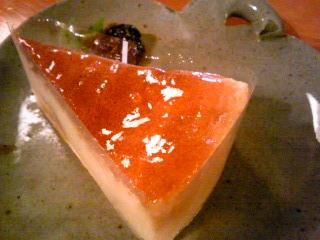 「アップルチーズケーキ」林檎と葡萄の樹(朝倉市)