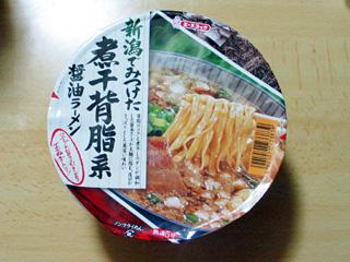 新潟でみつけた煮干背脂系醤油ラーメン