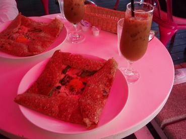 ピンクのカフェ2