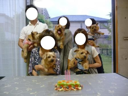みんなでケーキ前