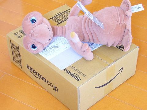 箱が到着。