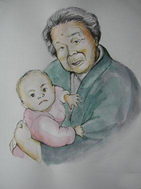 高知のおばあちゃん