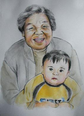 宇和島のおばあちゃん