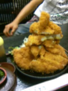 豚カツ定食(大)