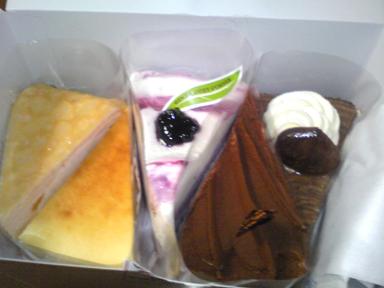 コージーのケーキ