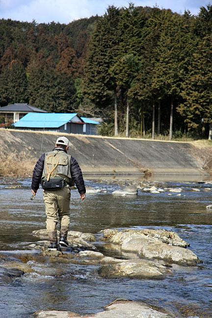 黒川水系でフライ7