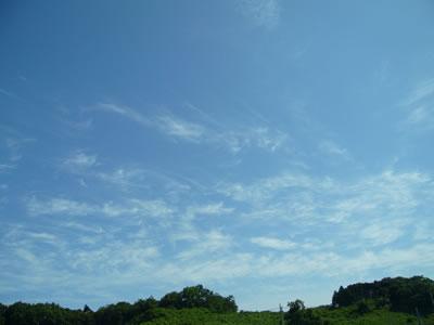 天使達の雲