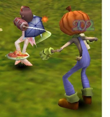 かぼちゃと私
