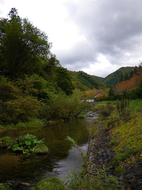 091012秋の川