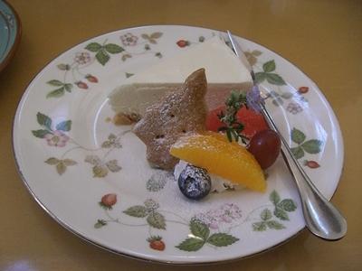 12.23 レアチーズケーキ