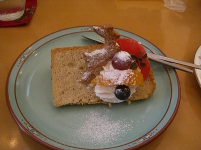12.23 シフォンケーキ