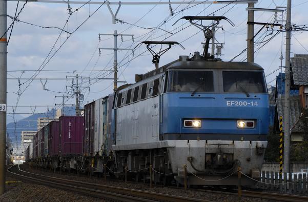 1070レ  EF200-14号機
