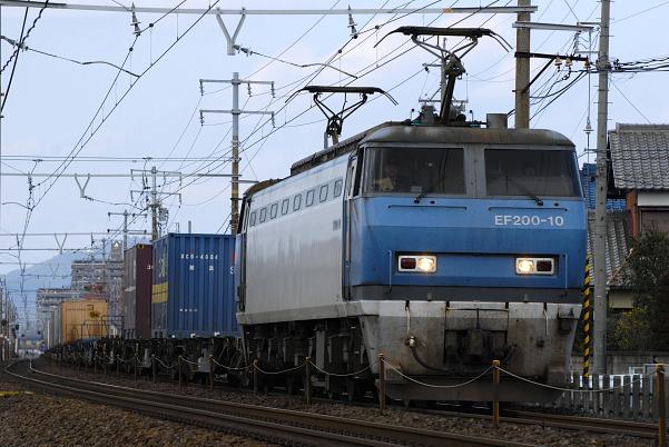 1070レ  EF200-10号機
