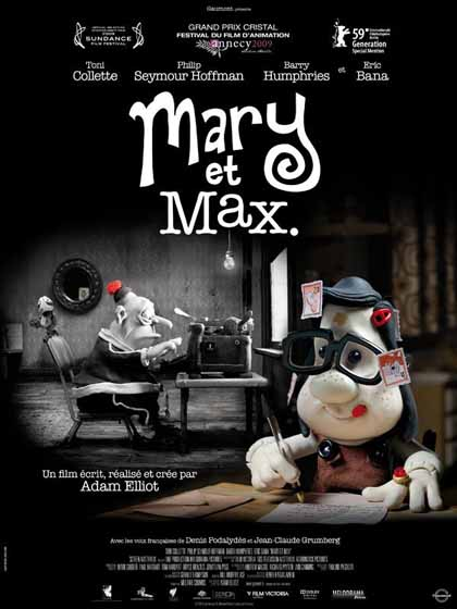 mary et max_affiche
