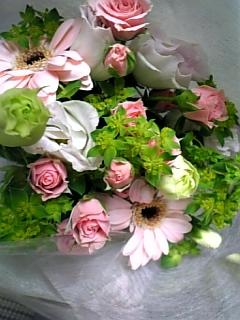 送別会、花。