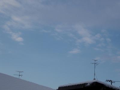 また雪・・・