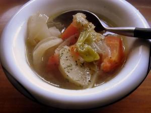 110126朝のスープだ