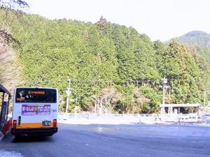 バスで一路河内長野駅へ