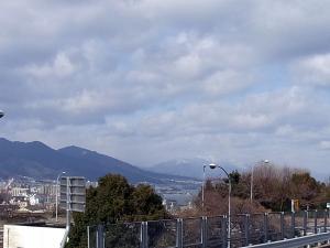 大津のSAから景色