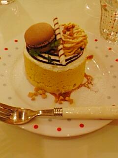 チョコホリケーキ