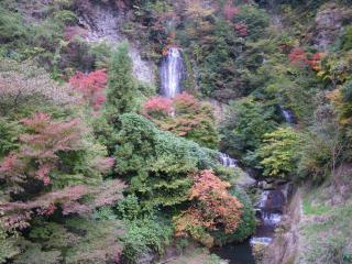 垂玉温泉の紅葉