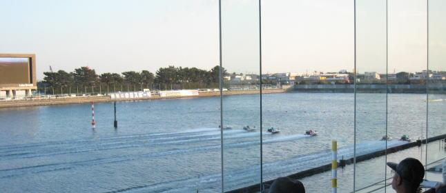 浜名湖競艇二階席