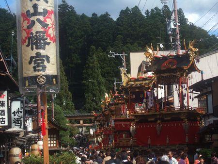 桜山八幡宮の秋の八幡祭(秋の高山祭)