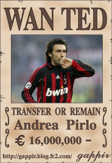wanted・pirlo