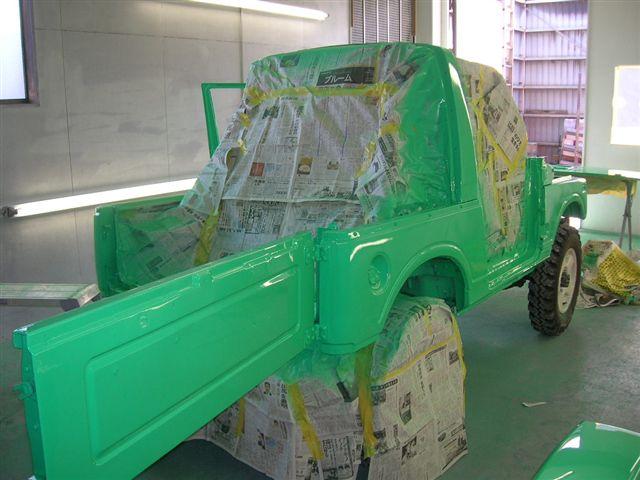ジムニー黄緑2