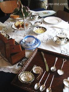 古い紅茶道具あれこれ