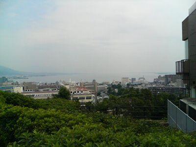 大津インターからの琵琶湖