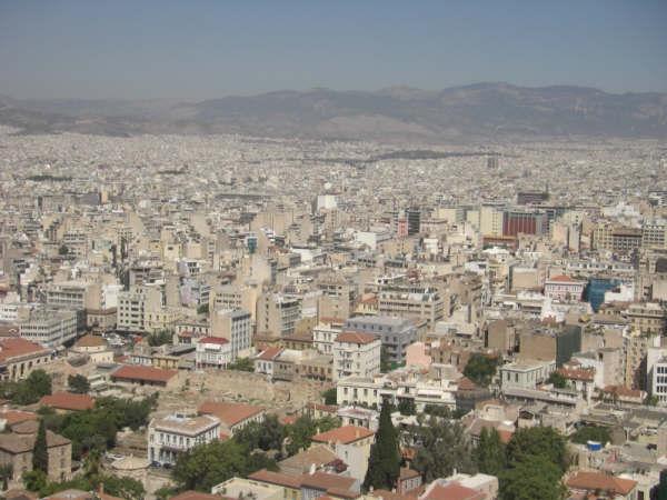 アテネ風景