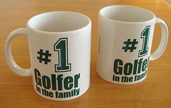 #1 ゴルファー マグカップ