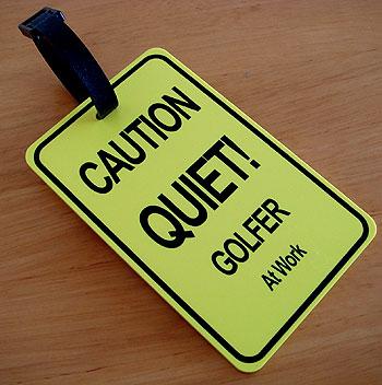 ご注意タグ! お静かに!