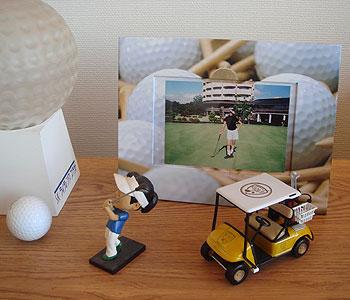 ゴルフ!写真立て