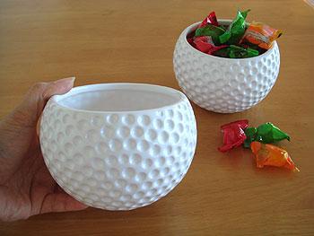 ゴルフボール型 ミニ・プランター