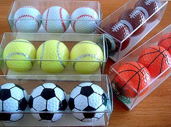スポーツ!ゴルフボール!