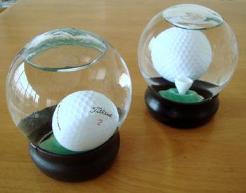 ゴルフボール チャレンジゲーム