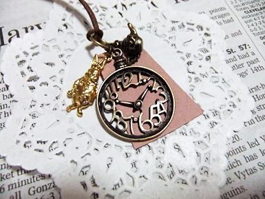 時計ネックレス1