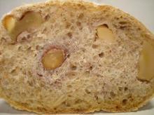 木の実のパン断面