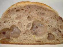 栗のパン断面
