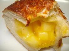 4種のチーズ断面アップ