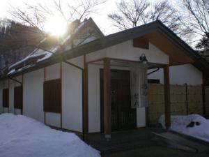 猿ヶ京ホテル離れの大浴場外観
