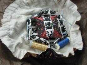 巾着裁縫道具入れ2