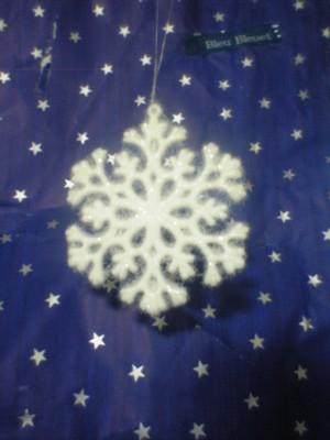 Xmas小物(雪の結晶)
