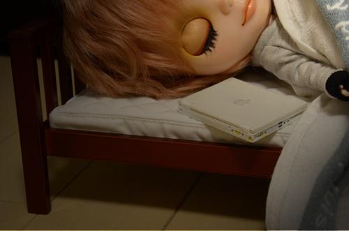 寝落ち・・・・