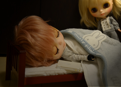 早く寝なさい。マルイ。