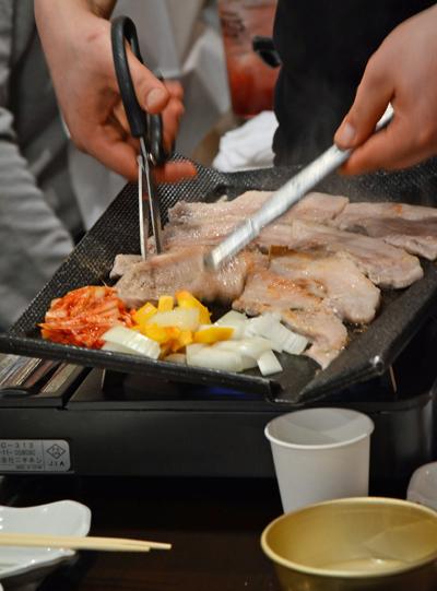 韓国料理ってキッチンバサミよく使うよね。。。