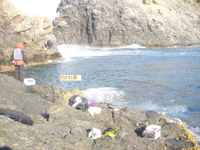 松島 高場の東側 潮流